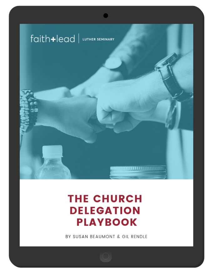 The Church Delegation Playbook