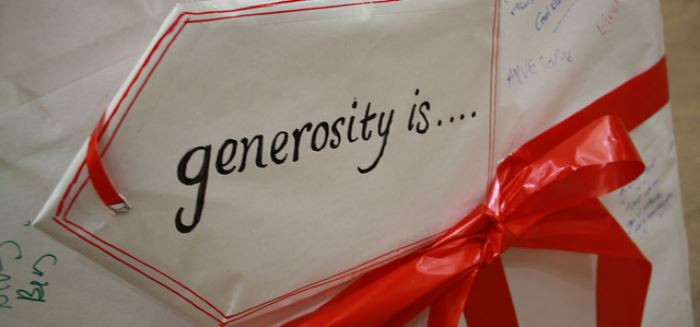 "Featured image for ""Generosity For You, Not From You"""