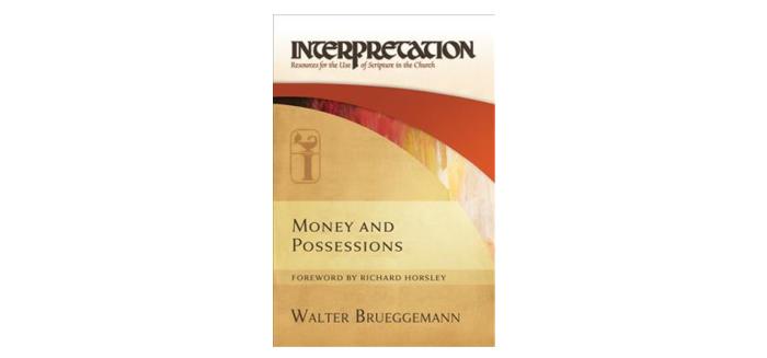 "Featured image for ""New Stewardship Book by Walter Brueggemann"""