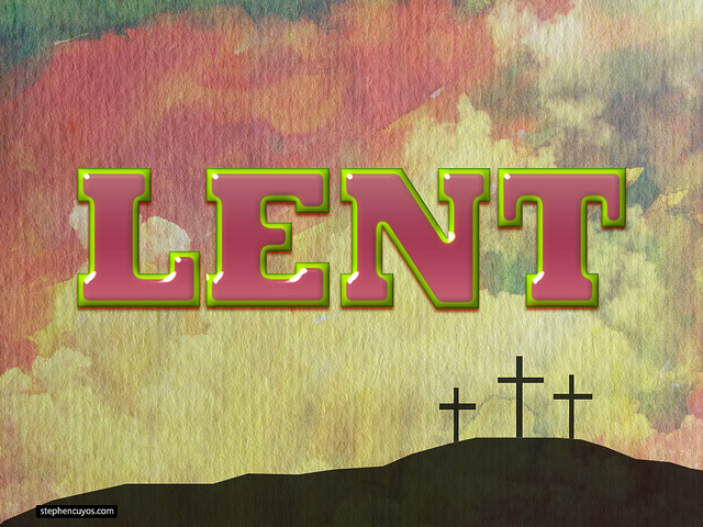 Lent, Youth, and Opportunity