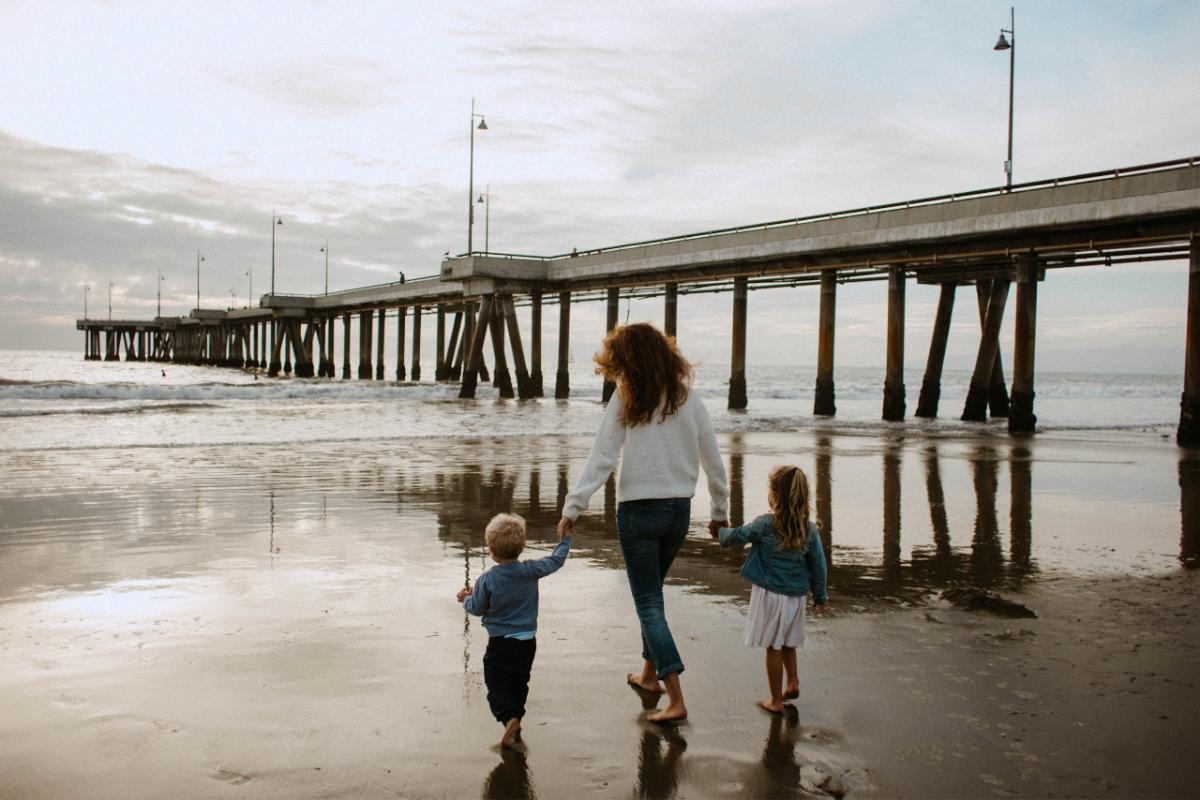 walk near pier