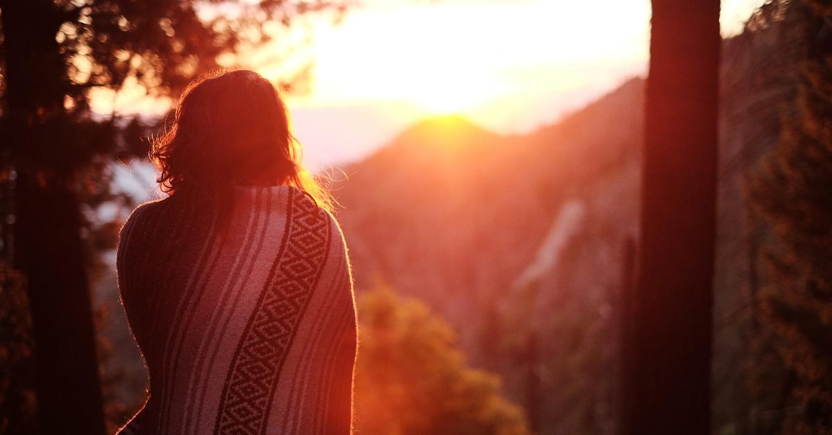 sunrise blanket