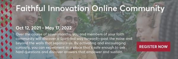 Faithful Innovation Online Community - 600 x 200